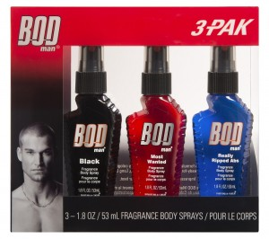 Bod Man Body Mist Black 53ML+Most Wanted 53ML+Really Ripped Abs 53ML