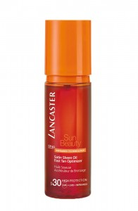 Lancaster Satin Sheen Fast Tan Optimizer Oil Spf30 150ml