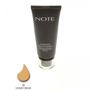 Note Luminous Mousturizing Fondöten Spf15 Honey Beige 05 35ML