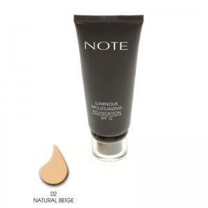 Note Luminous Mousturizing Fondöten Spf15 Natural Beige 02 35ML