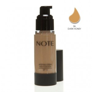 Note Mattifying Fondöten Spf15 Dark Honey 06 35ML