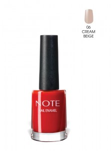 Note Nail Enamel Oje 06 Cream Beige 9ML