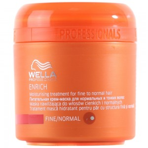 Wella Enrich Nemlendirici Maske İnce Normal 150ML