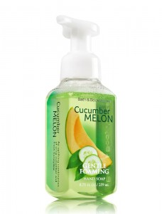 Bath And Body Works Cucumber Melon Köpüren El Sabunu 259ML