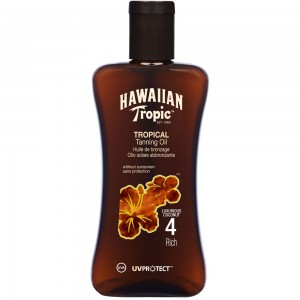Hawaiian Tropic Protective Tanning Oil Spf4 200ML