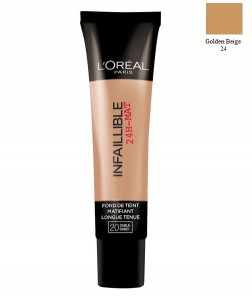 Loreal fondöten Infallible 24H Matte 24 Golden Beige 35ML