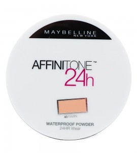 Maybelline Affinitone 24H Waterproof Pudra 40 9G