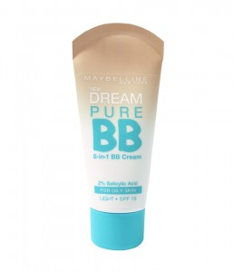 Maybelline Fondöten Dream Pure Bb Oily Skin Light