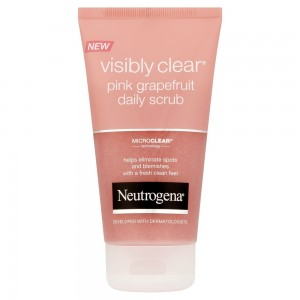 Neutrogena Visible Clean Pink GRapefruit Daily Scrub 150ML