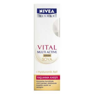 Nivea Visage Vital Multi Active Soya Serum 50ML