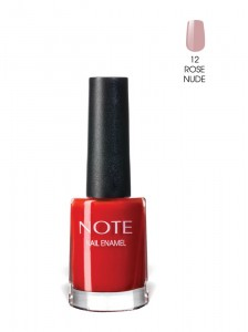 Note Nail Enamel Oje 12 Rose Nude 9ML