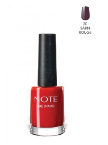 Note Nail Enamel Oje 20 Satin Rouge 9ML