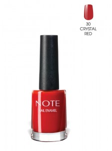 Note Nail Enamel Oje 30 Crystal Red 9ML