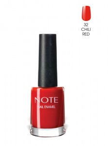 Note Nail Enamel Oje 32 Chili Red 9ML