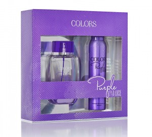 Rebul Colors Purple Paradise Bayan Edp 75ML+Deodorant 150ML