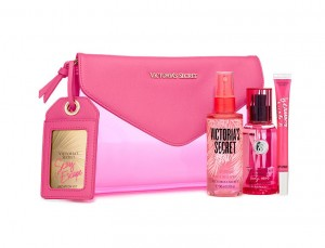 Victoria Secret Sexy Escape Bombshell Body Mist 75ML+Hair Spray 90ML+Lip 7ML